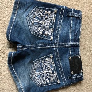 Rodeo Girl Children's Shorts Bling • Country Wear